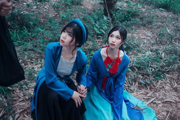 Bộ ảnh kỷ yếu 15 triệu đồng hoá thân vào các nhân vật truyện Tấm Cám đẹp xuất sắc của học sinh Đắk Lắk - Ảnh 5.