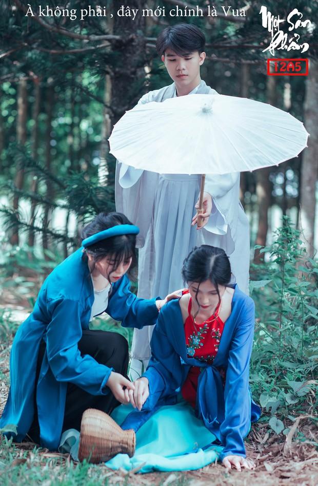 Bộ ảnh kỷ yếu 15 triệu đồng hoá thân vào các nhân vật truyện Tấm Cám đẹp xuất sắc của học sinh Đắk Lắk - Ảnh 3.