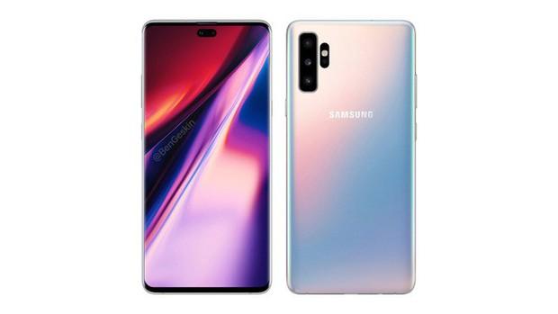 Đây là thiết kế cuối cùng của Samsung Galaxy Note 10? - Ảnh 1.