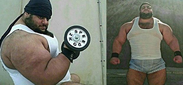 Vận động viên cử tạ được mệnh danh người khổng lồ Hulk của Iran, cân nặng bằng cá voi sát thủ - Ảnh 6.