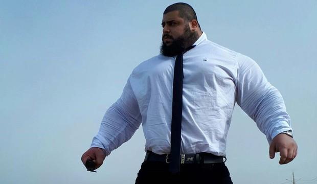 Vận động viên cử tạ được mệnh danh người khổng lồ Hulk của Iran, cân nặng bằng cá voi sát thủ - Ảnh 7.