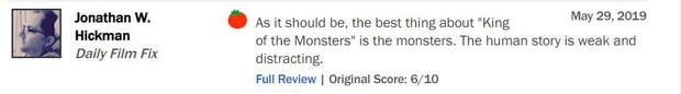Trước thềm công chiếu, GODZILLA 2 khiến giới phê bình chia rẽ sâu sắc - Ảnh 10.
