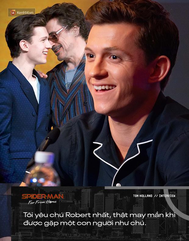 Phỏng vấn đặc biệt nhện nhí Tom Holland: Làm việc với chú Robert là trải nghiệm tuyệt vời nhất trên đời! - Ảnh 6.
