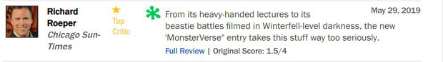 Trước thềm công chiếu, GODZILLA 2 khiến giới phê bình chia rẽ sâu sắc - Ảnh 5.
