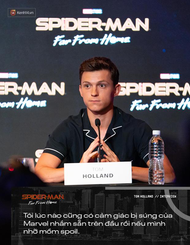 Phỏng vấn đặc biệt nhện nhí Tom Holland: Làm việc với chú Robert là trải nghiệm tuyệt vời nhất trên đời! - Ảnh 8.