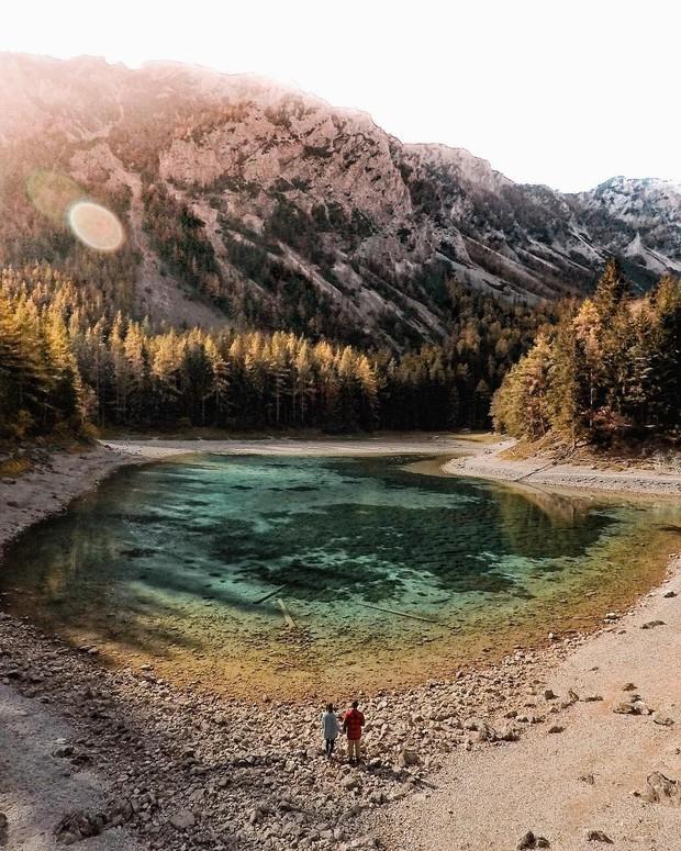 Mãn nhãn xen lẫn há hốc mồm với công viên ở Áo được ví như chốn thần tiên, mỗi năm chỉ xuất hiện 6 tháng rồi... mất tích - Ảnh 11.