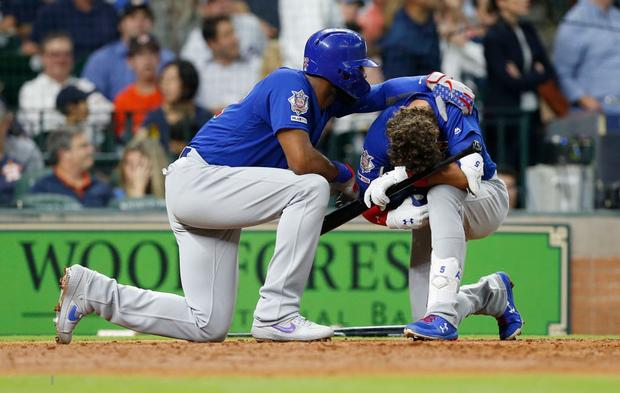 Sao bóng chày quỳ xuống nức nở sau cú đánh lỗi khiến bé gái phải nhập viện khẩn cấp - Ảnh 4.