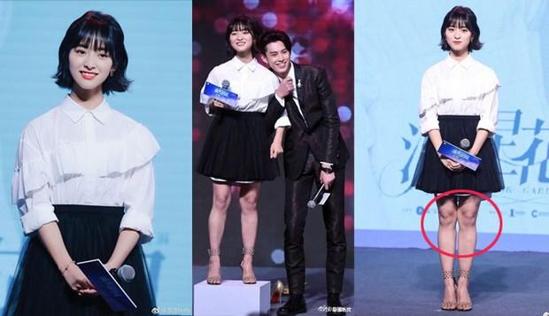 Hình ảnh khiến Sina phải ngao ngán chê vỡ mộng của Thẩm Nguyệt: Cận mặt thì xinh nhưng đừng zoom toàn thân! - Ảnh 9.