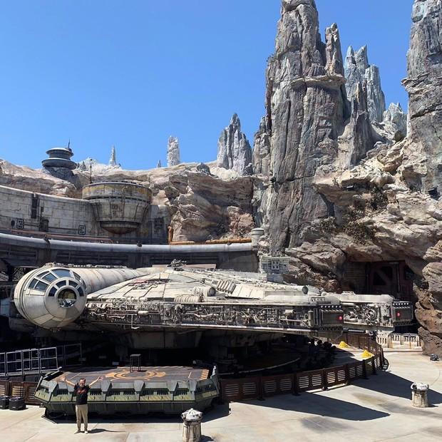 Sắp lộ diện công viên chủ đề Star Wars y hệt trong phim khiến các fan Disney đứng ngồi không yên - Ảnh 13.
