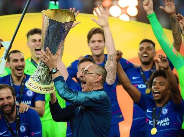 Đánh bại Arsenal ở chung kết Europa League, cầu thủ và HLV Chelsea đua nhau phá dớp, thiết lập kỷ lục mới - Ảnh 2.