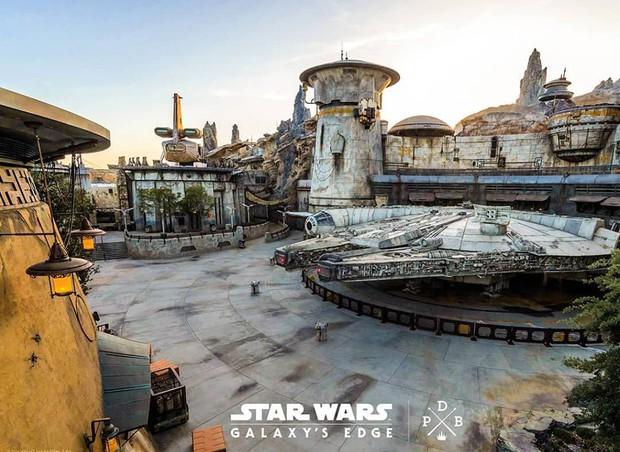 Sắp lộ diện công viên chủ đề Star Wars y hệt trong phim khiến các fan Disney đứng ngồi không yên - Ảnh 2.