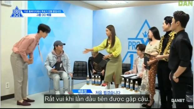 HLV nổi tiếng sắt đá của Produce X 101 cũng phải mềm tim trước Lee Dong Wook - Ảnh 4.