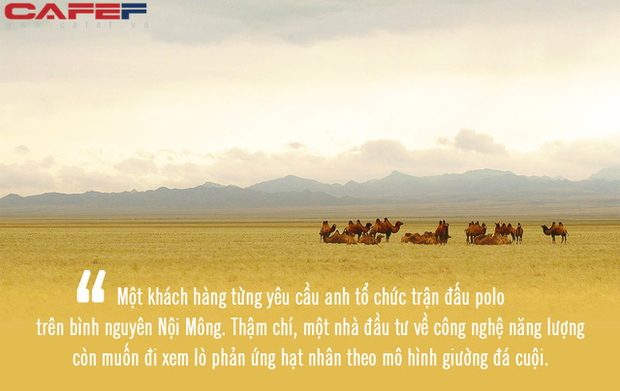 Xu hướng du lịch xa xỉ tại Trung Quốc khiến giới nhà giàu phương Tây mê như điếu đổ: Mở tiệc giữa sa mạc, đi thăm nhà máy hạt nhân, tất cả đều được đáp ứng! - Ảnh 7.