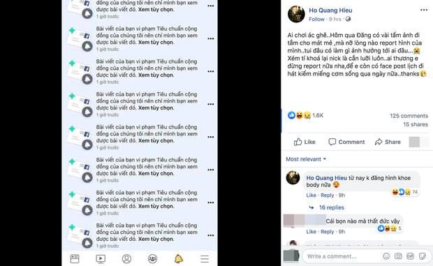 Đen như Hồ Quang Hiếu: Đăng ảnh ở bồn tắm thôi mà hết bị bóc du lịch cùng Bảo Anh, lại còn bị report Facebook - Ảnh 3.