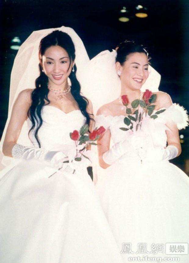 27 mỹ nhân tuyệt sắc Hong Kong mặc váy cưới tinh khôi, Lê Tư hay Châu Huệ Mẫn mới kinh diễm hơn cả? - Ảnh 12.