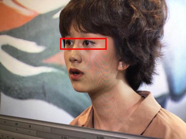 Make-up của Ánh Dương (Về Nhà Đi Con) khi hẹn hò ông Quốc: Môi bầm, tóc sư tử, mắt kẻ... bị lệch? - Ảnh 3.