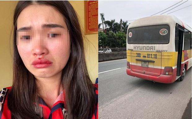 Thông tin mới vụ tài xế xe buýt đánh nữ hành khách chảy máu mũi vì chụp ảnh xe đánh võng - Ảnh 1.