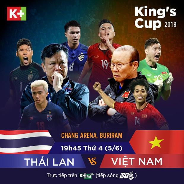 Người hâm mộ có thêm lựa chọn theo dõi tuyển Việt Nam tại Kings Cup - Ảnh 1.
