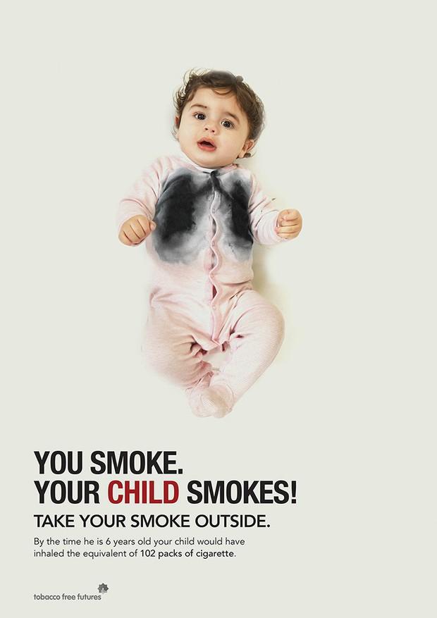 Chùm ảnh biết nói cho thấy tác hại kinh khủng của thuốc lá khiến cả những người không hút thuốc cũng phải suy ngẫm - Ảnh 18.