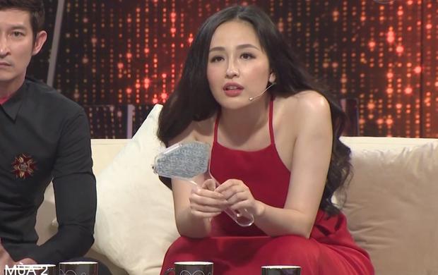 Người ấy là ai? tung clip mới: Mai Phương Thúy lộ dáng ngồi manly và bụng ngấn mỡ - Ảnh 2.
