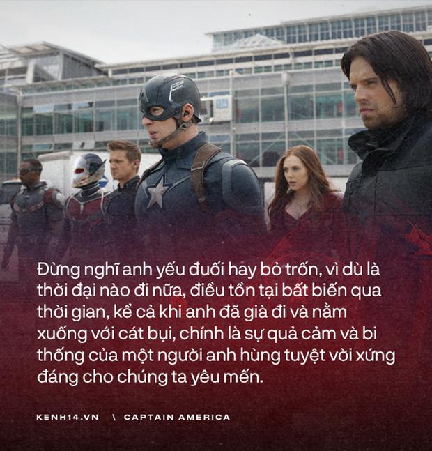 Dù là Captain America hay chỉ là một Steve Rogers, anh đã sống như một người đàn ông chân chính! - Ảnh 20.