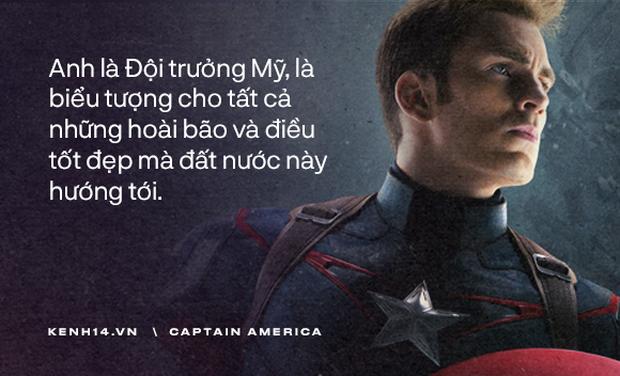 Dù là Captain America hay chỉ là một Steve Rogers, anh đã sống như một người đàn ông chân chính! - Ảnh 7.
