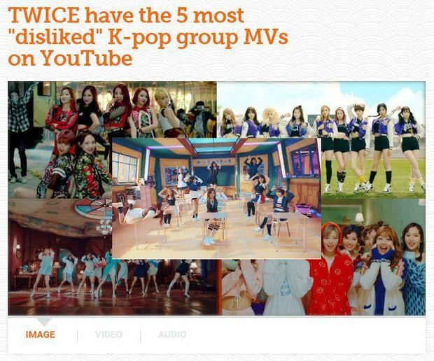Từng thống trị danh sách MV bị ghét nhất K-Pop, TWICE giờ đã phải nhường ngôi cho BTS hay BLACKPINK? - Ảnh 1.