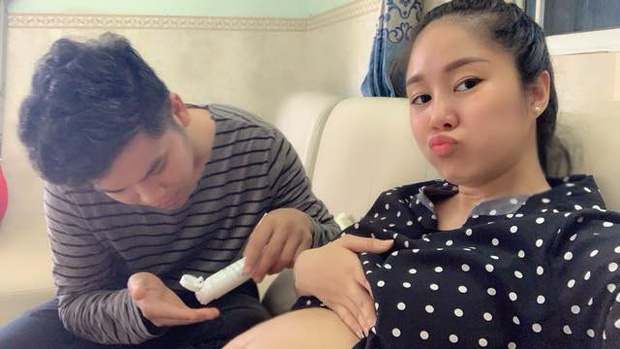 Bất ngờ với món quà sinh nhật ông xã Lê Phương muốn nhận được khi vợ cận kề ngày sinh nở - Ảnh 2.
