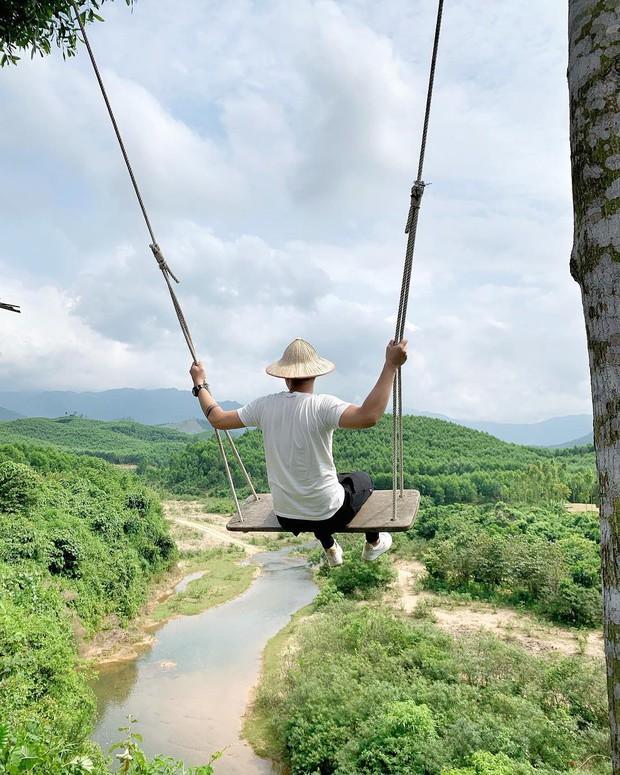 """Cần gì đến Bali, tại Việt Nam cũng có xích đu gỗ view trọn thung lũng tha hồ cho bạn """"thót tim"""" bay lượn! - Ảnh 11."""
