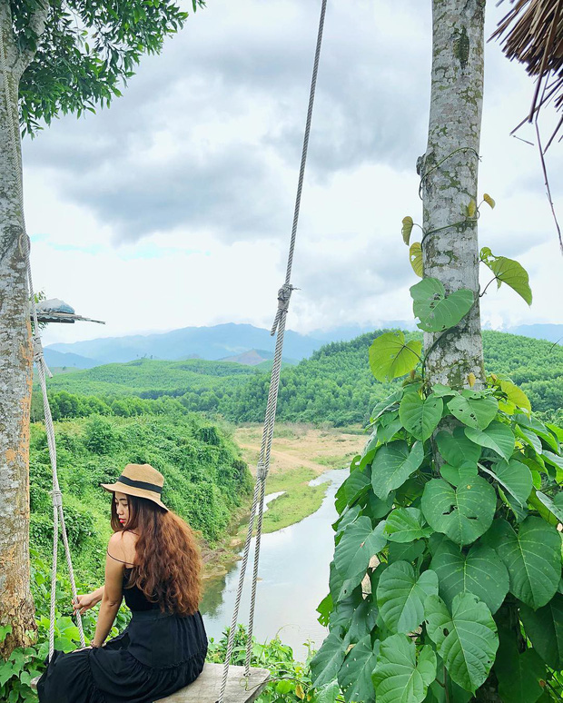 """Cần gì đến Bali, tại Việt Nam cũng có xích đu gỗ view trọn thung lũng tha hồ cho bạn """"thót tim"""" bay lượn! - Ảnh 18."""