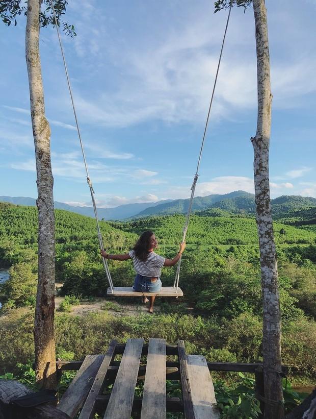 """Cần gì đến Bali, tại Việt Nam cũng có xích đu gỗ view trọn thung lũng tha hồ cho bạn """"thót tim"""" bay lượn! - Ảnh 3."""