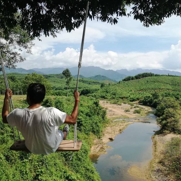 """Cần gì đến Bali, tại Việt Nam cũng có xích đu gỗ view trọn thung lũng tha hồ cho bạn """"thót tim"""" bay lượn! - Ảnh 10."""