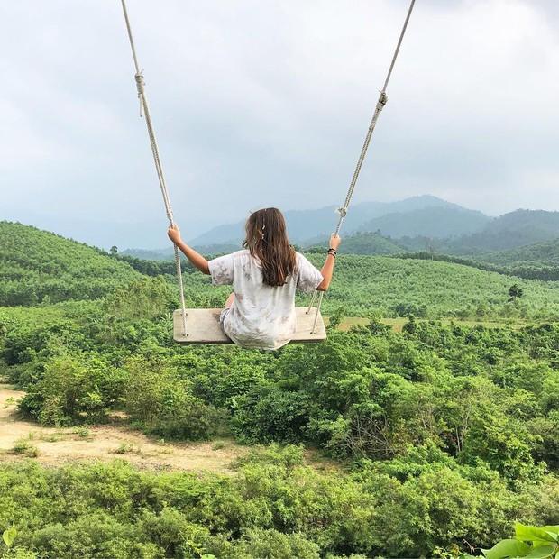 """Cần gì đến Bali, tại Việt Nam cũng có xích đu gỗ view trọn thung lũng tha hồ cho bạn """"thót tim"""" bay lượn! - Ảnh 8."""