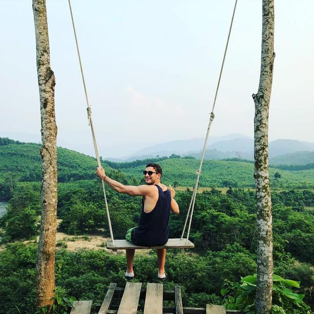"""Cần gì đến Bali, tại Việt Nam cũng có xích đu gỗ view trọn thung lũng tha hồ cho bạn """"thót tim"""" bay lượn! - Ảnh 6."""