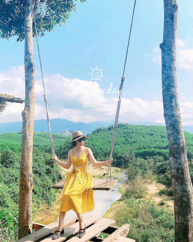 """Cần gì đến Bali, tại Việt Nam cũng có xích đu gỗ view trọn thung lũng tha hồ cho bạn """"thót tim"""" bay lượn! - Ảnh 5."""
