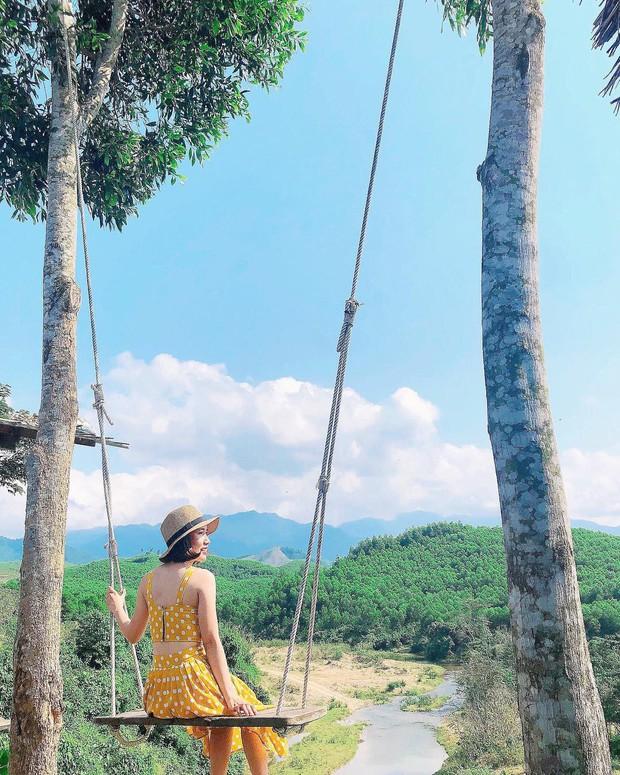 """Cần gì đến Bali, tại Việt Nam cũng có xích đu gỗ view trọn thung lũng tha hồ cho bạn """"thót tim"""" bay lượn! - Ảnh 13."""