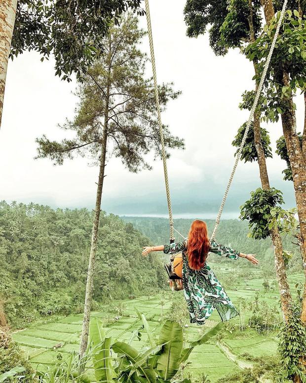 """Cần gì đến Bali, tại Việt Nam cũng có xích đu gỗ view trọn thung lũng tha hồ cho bạn """"thót tim"""" bay lượn! - Ảnh 1."""