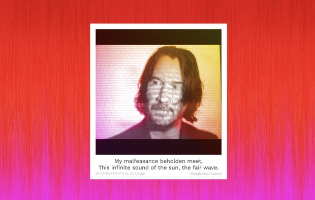 Google ra ứng dụng Poem Portraits giúp phủ lên ảnh chân dung một… bài thơ do AI sáng tác - Ảnh 1.