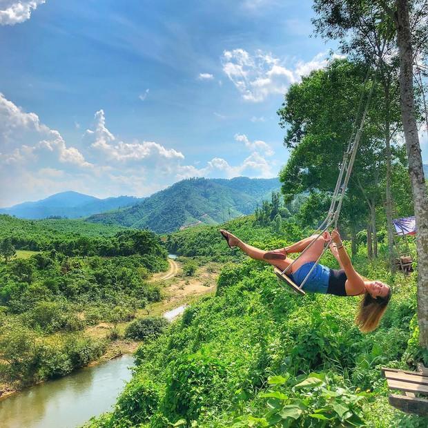 """Cần gì đến Bali, tại Việt Nam cũng có xích đu gỗ view trọn thung lũng tha hồ cho bạn """"thót tim"""" bay lượn! - Ảnh 4."""