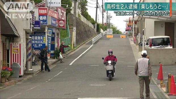 Hai thiếu niên Nhật Bản có thể bị cáo buộc giết người vì giăng dây thừng giữa đường chỉ để cho vui - Ảnh 1.