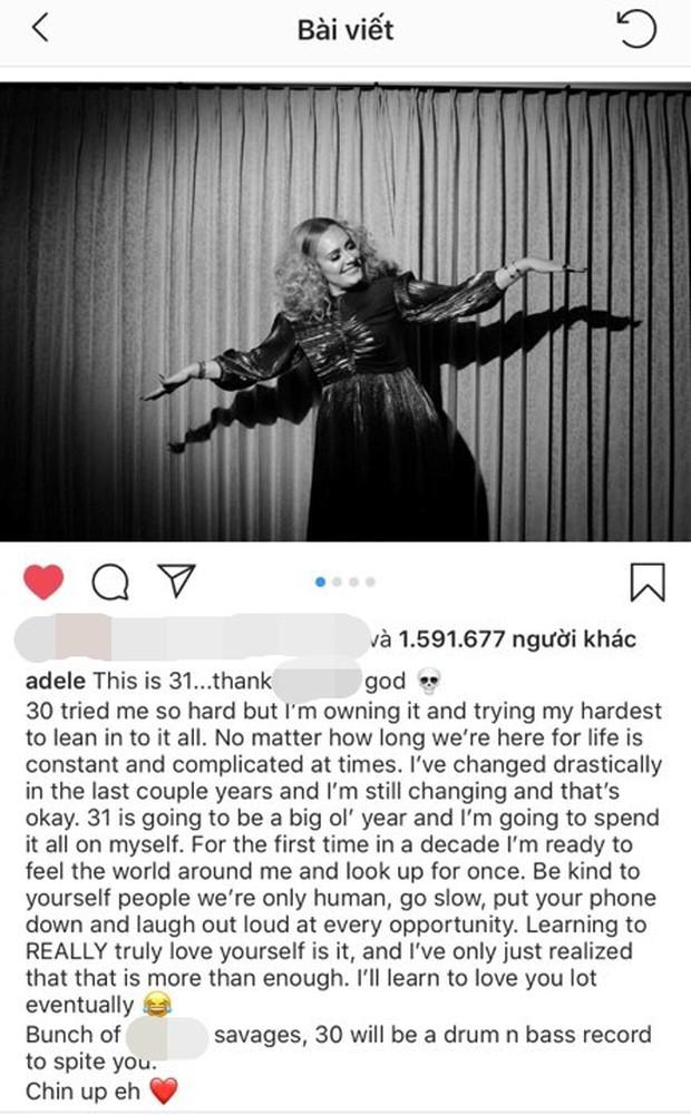 Hậu li hôn, Adele chính thức công bố tên album mới, nhưng điều khán giả quan tâm hơn cả lại là... - Ảnh 1.