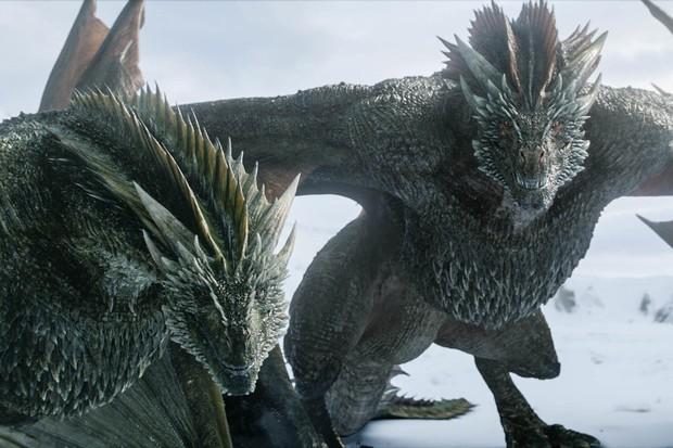 Nạn nhân lần này của Game of Thrones tập 4 mùa 8 là con rồng Rhaegal