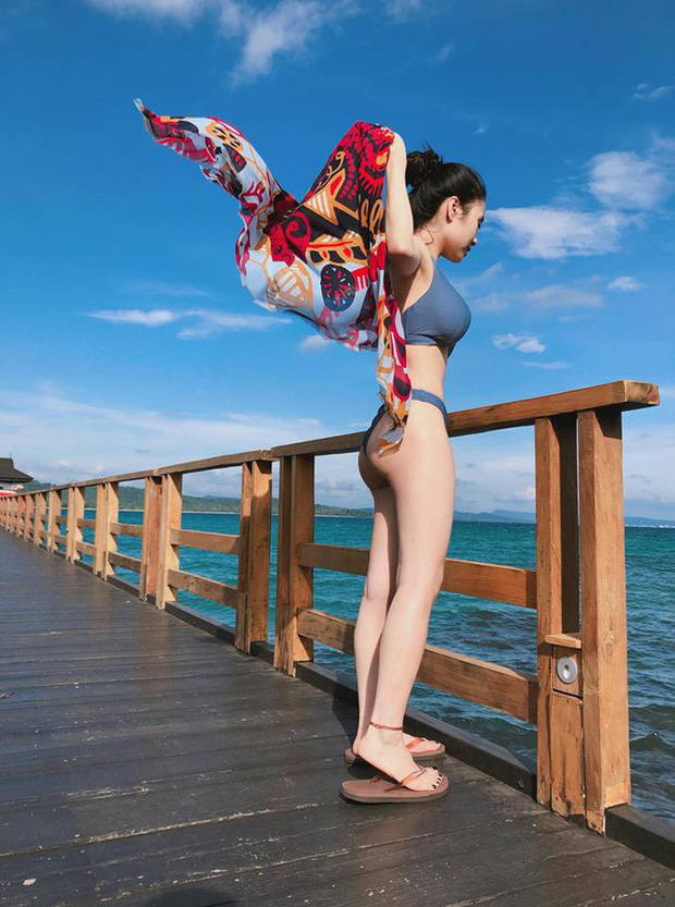 Mỹ nhân Vũ trụ VTV thả dáng với bikini: Ít khi khoe nhưng body cũng rất gì và này nọ, nóng bỏng chẳng kém ai - Ảnh 16.