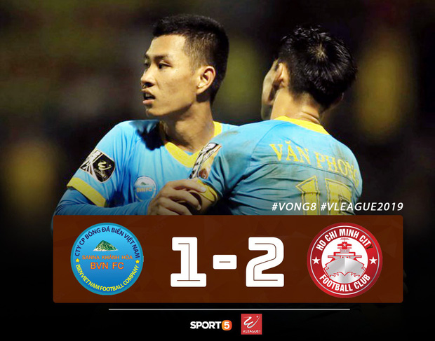 CLB Thanh Hoá thoát kiếp cuối bảng, TP HCM đòi lại ngôi đầu từ Hà Nội FC đầy kịch tính - Ảnh 2.