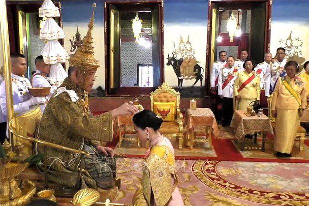 Quốc vương Thái Lan phong tước hiệu mới cho các thành viên Hoàng gia  - Ảnh 1.