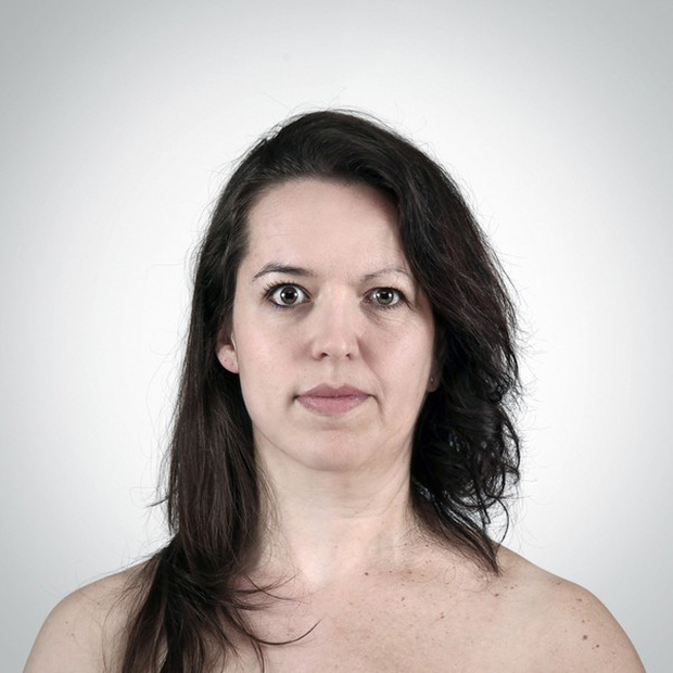 Chân dung di truyền: những bức ảnh hợp nhất hai thành viên để thấy nét giống nhau trong gia đình - Ảnh 4.