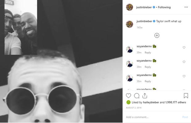 Nghiệp quật là có thật: Từng cùng Kanye bắt nạt Taylor Swift, Justin Bieber bị ném đá vì lên án việc bắt nạt tập thể - Ảnh 3.
