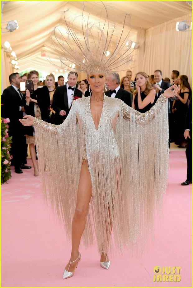 Từ thảm họa bộ xương di động, Celine Dion xuất sắc thoát xác thành bà hoàng thảm đỏ Met Gala năm nay! - Ảnh 3.