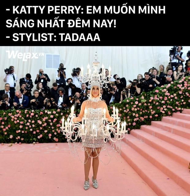 Nhìn vào bộ trang phục của Katy Perry tại Met Gala, hội chị em háu ăn chỉ có thể thốt lên: Ôi ngon mắt quá! - Ảnh 3.