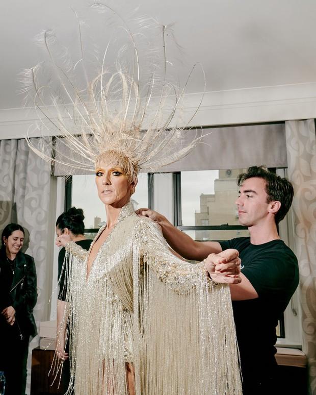 Từ thảm họa bộ xương di động, Celine Dion xuất sắc thoát xác thành bà hoàng thảm đỏ Met Gala năm nay! - Ảnh 6.